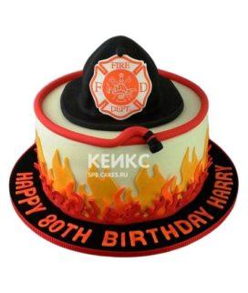 Торт для пожарного 15