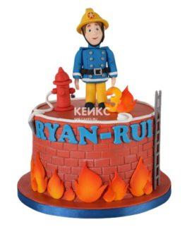 Торт для пожарного 18