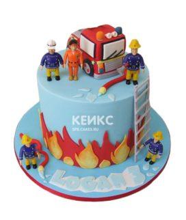 Торт для пожарного 19