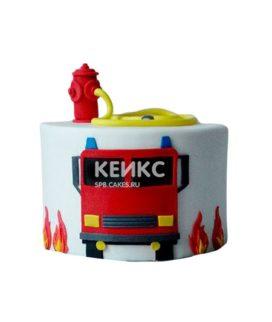 Торт для пожарного 20