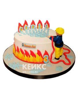 Торт для пожарного 6