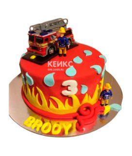 Торт для пожарного 7