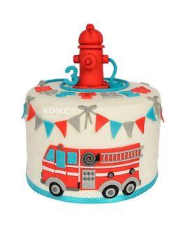 Торт для пожарного 8