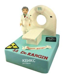 Торт для рентгенолога 7