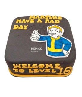 Торт Fallout 3