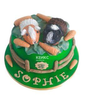Торт хомяк 1