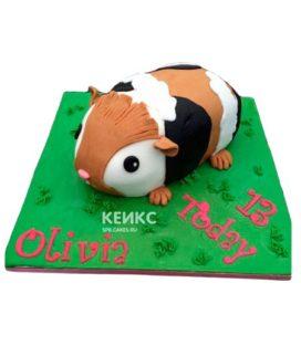 Торт хомяк 3