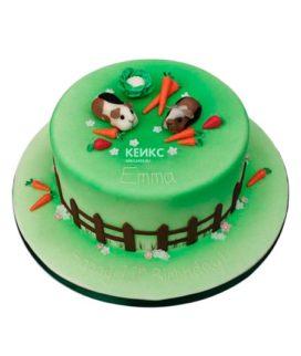 Торт хомяк 5