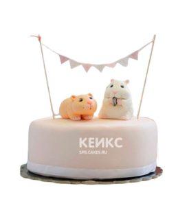 Торт хомяк 6