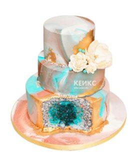 Торт кристалл 5