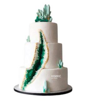 Торт кристалл 8