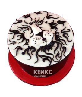 Торт лев 4