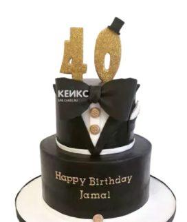 Торт на юбилей мужчине 40 лет 16