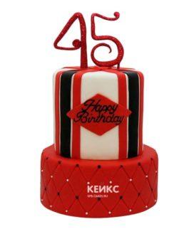 Торт на юбилей мужчине 45 лет 6
