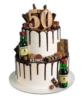 Торт на юбилей мужчине 50 лет 10