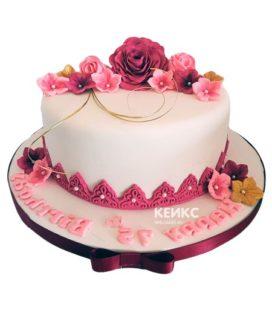 Торт на юбилей женщине 35 лет 12