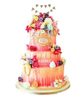 Торт на юбилей женщине 35 лет