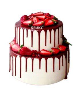 Торт необычный без мастики 2