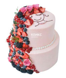 Торт необычный без мастики 4