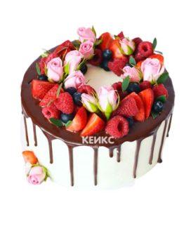 Торт необычный без мастики 5