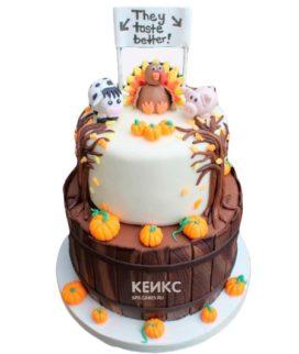 Торт осень 7