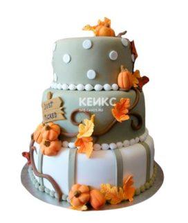 Торт осень 9