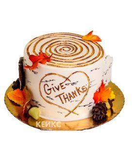 Торт осень без мастики 1
