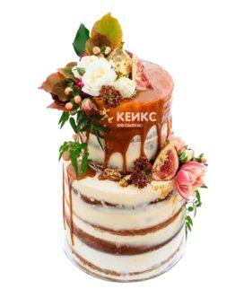 Торт осень без мастики 3