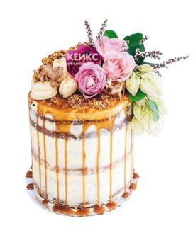 Торт осень без мастики 4