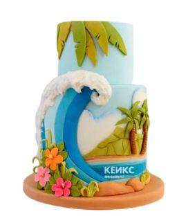 Торт остров 2