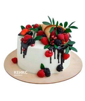 Торт папе без мастики 3