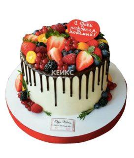 Торт папе без мастики 5
