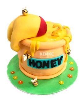 Торт с сотами 13