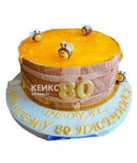 Торт с сотами 9