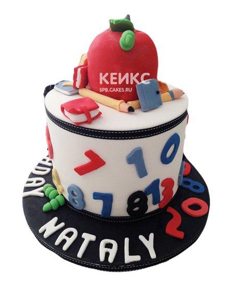 Торт для учителя математики 11