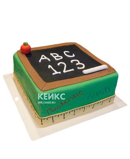 Торт для учителя математики 8