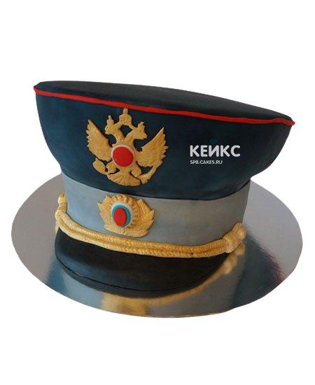 Торт полицейская фуражка 4