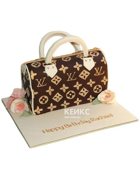 Торт сумка луи виттон 13