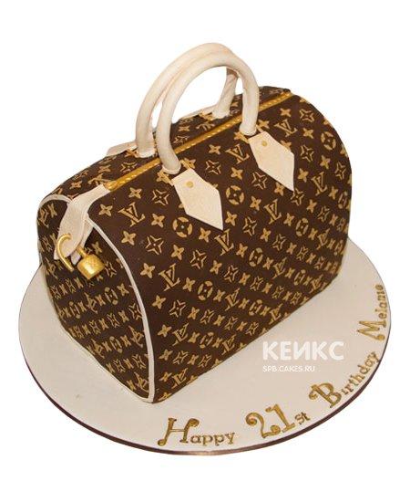 Торт сумка луи виттон 15