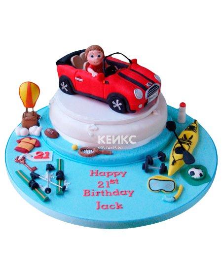 Торт машина 8