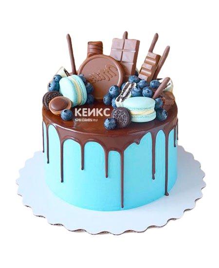 Торт с голубикой 1