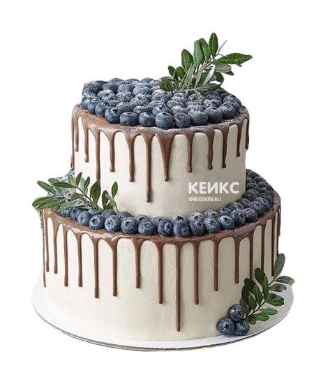 Торт с голубикой 10