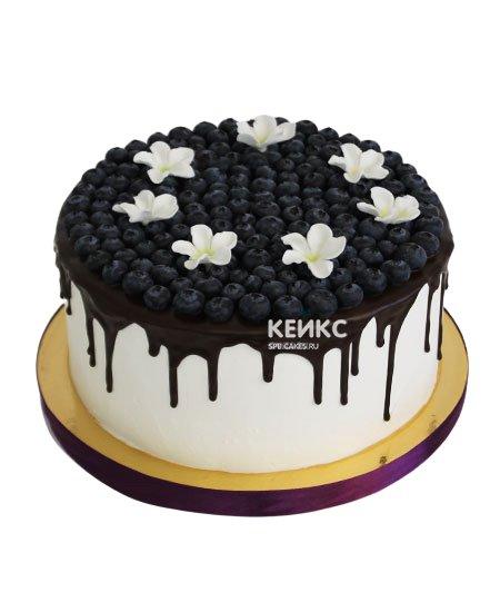 Торт с голубикой  14