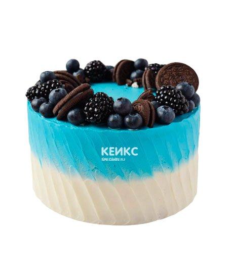 Торт с голубикой 3