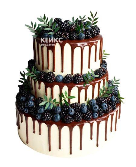 Торт с голубикой 5