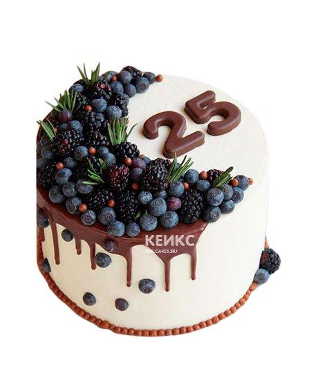 Торт с голубикой 6