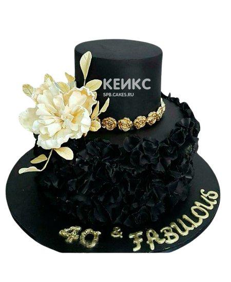 Торт с мастикой 1