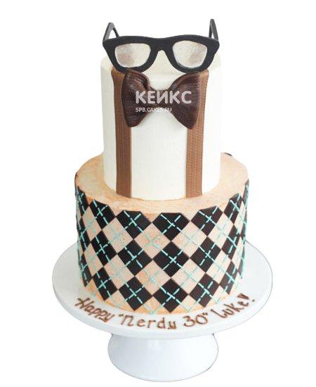 Торт с мастикой 10