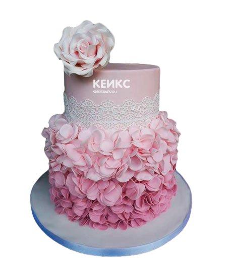 Торт с мастикой 2