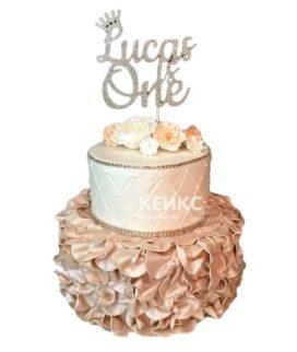 Торт с мастикой 3